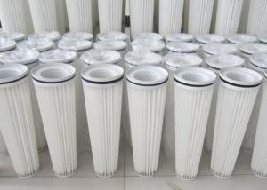 China OEM Coal Ash  Stone Powder  Dust Collector Filter Cartridge 18 - 24m2 Filtration Area on sale