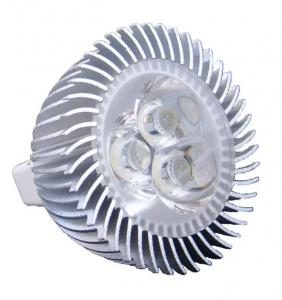 China 3W 12V E27 MR16 led spot lamp solar light Energy saving , 285Lm/w for Exhibition hall on sale