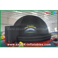 5m DIA Black Inflatable planetarium Dome Projection Tent For School Teaching