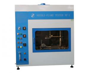 China Electrical Control Needle - Flame Test Equipment For Flammability Testing Button Operation Air Vent on sale