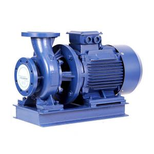 China Johames ISW electric water pump motor price single stage in-line 3- inch centrifugal water pump on sale