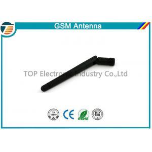 China Wireless Rubber Flexible GSM GPRS Antenna 2 dBi Gain 900MHz / 1800MHz on sale