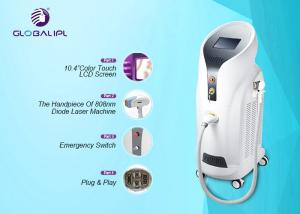 China Permanent Ladies Hair Removal Machine 808nm Wavelength For Long Time Working on sale