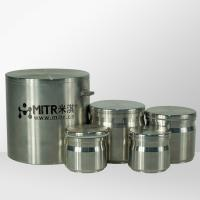 Stainless Steel Ball Mill Jar 50ml - 2500ml Volume / Planetary Ball Grinding Jar