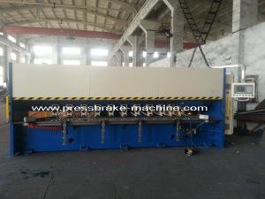 China sharped corner V Cutter CNC Grooving Machine Hydraulic 3.2m Long Table CE Standard on sale