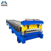 Color Steel Glazed Tile Roll Forming Machine Nigerian To Mexico