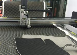 China Car Floor Cushion Automotive Interior CNC Computer Plotter Mat Cutting Machine on sale