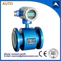 China Electromagnetic irrigation water flow meter for liquid  with low cost on sale