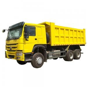 China Ethiopia Sino HOWO 6x4 10 Wheel Tipper Truck , Mining Dump Truck 16 20 Cubic Meter on sale