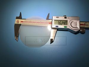 China C - Axis Sapphire Wafer Single Side Polished 3 Inch Al2O3 Crystal Optical Lens on sale