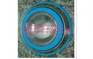 China Stainless Steel Wall Mounted Underwater Swimming Pool Lights With Blue Rings on sale