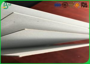 China Manufacturing Strong Stiffness 1.5mm Laminated Grey Board Hard With FSC Certificated For Book Holder on sale