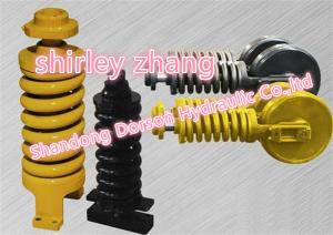 China Front Idler Assy For Excavator Spare Parts, Excavator Parts Hyundai Front Idler Assy SHB015-SHB022 on sale