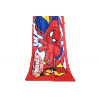 Spiderman Beach Towels Monogrammed Cool Bright Color Red for Little Boy 250gsm