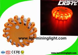 China Magnetic Rechargeable FRED Flashing Roadside Emergency Disc LED Warning Flare with Waterproof Impact Resistant on sale