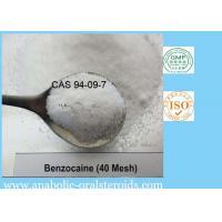 China Pain Killer Benzocaine Local Anesthetic Agents Benzocaine CAS 94-09-7 Ethyl 4-Aminobenzoate on sale