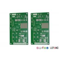 MCPCB Metal Core FR4 PCB Board 1 Layer Green Solder Mask For Power Supply