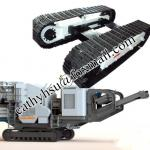 custom built crusher cralwer undercarriage steel crawler chassis from china factory