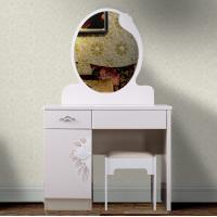 factory wholesale Modern minimalist painting with drawer dresser with mirror