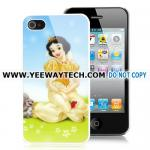 China Snow White Princess Design Hard Case Cover For iPhone 4S iPhone 4 - Blue wholesale