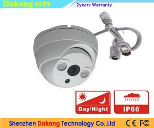 China Security Dome HDCVI Camera Array Led Day Night IR Cut UTC Control on sale