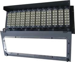 China 19 estrutura padrão que desliza a gaveta da fibra óptica de Fesign MPO/MTP da bandeja para o sistema de rede do caminhão on sale