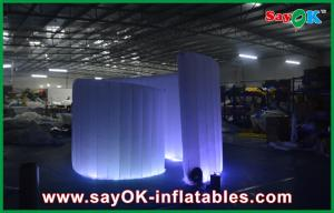 China Blue Inflatable Advertising Led Spiral Party Event Photo Booth Green Colourful Tent on sale