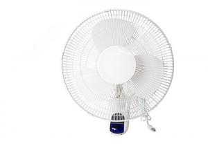 China Low Noise Grow Room Fans / 12 Plastic Wall Fan Air Ventilation 230V 50W 3 Blade 50Hz on sale