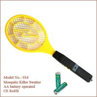 Safe and good quality mosquito swatter bug zapper operated with battery with CE,ROHS approval