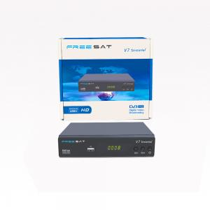 China FREESAT V7 Terrestrial DVB-T/T2 1080P Full HD satellite receiver support LCN on sale