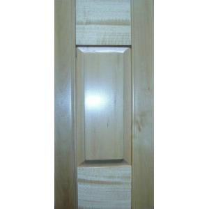 ... Quality Solid Panel Interior Window Shutters Basswood , Ventilation  Louvers For Sale