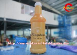 China Inflatable Drinking Bottle Model For Advertising / PVC Inflatable Liquor Bottle Model on sale