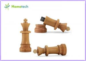 China Creative Chess USB 2.0 Wooden USB Flash Drive U Disk Pen Drive on sale