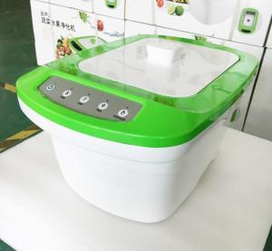 China 6L Household Ultrasonic Cleaner / Ultrasonic Ozone Vegetable Cleaner High Clean1800W on sale