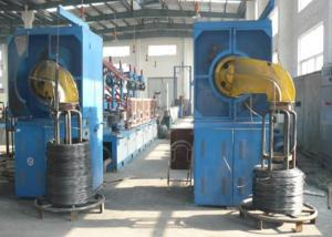 China High / Low Carbon Steel Wire Drawing Machine Utilizing Frequency Technology on sale