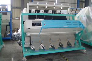 China color sorter for monkey nut and color sorter for peanut flake/color selector for Spiced peanuts on sale