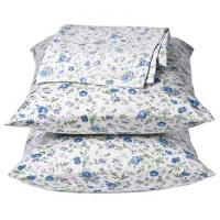 OEM Printed Cotton Home Bed Sheet Sets / Hotel Bedding Set Single Size or Double Sizie