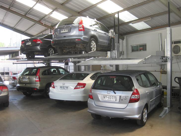 Simple Car Parking System For Underground Garage Car Elevator