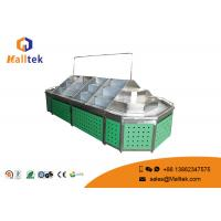 Multilayer Stainless Retail Shop Fittings Adjustable Supermarket Fruit Stand
