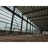 China Multifunctional Steel Structure Construction For Poultry Fame Shed With Grey Color on sale