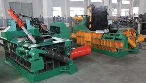 China Used Scrap Metal Hydraulic Compress Baler Baling Machine Power Press Machine on sale
