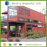 2017 High quality China cheap container house for hotel in prefab houses