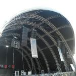 300x300mm bolt / stage  / strong capacity aluminum stage box truss and display truss