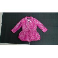 Pink Waterproof Girls Jacket Custom Various Boutique Childrens Clothing