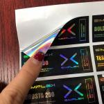 Free Design Holographic Sticker 10ML Vial Labels And Boxes For Steroid Bottle Packaging
