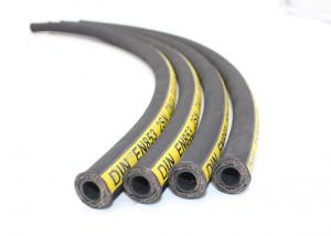 China Flexible SAE100 R2 Hydraulic Rubber Hose for John Deere Compact Wheel Loader on sale