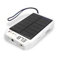 Solar Power Cell Phone Battery Charger for Flashlight Torch