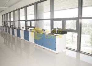 China 2480 * 1830mm epoxy resin worktop matte surface durability , lab benches on sale