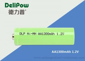 China Green Power Nimh Aa Rechargeable Batteries For Medical Equipment 1300mAh on sale