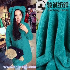 China 100% polyester coral/polar fleece and arctic cashmere blended for apparel on sale